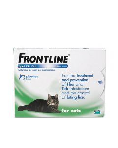 Frontline Spot On - Cat - 3 pipettes