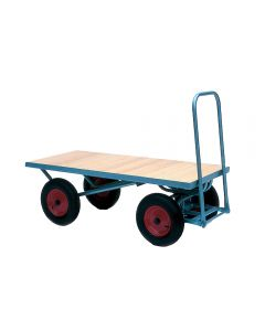 4 Wheeled Flat Trolley