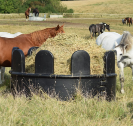 Reduce hay waste and save money!