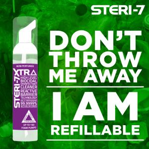 Why choose Steri-7? BREAK - TREAT - PREVENT
