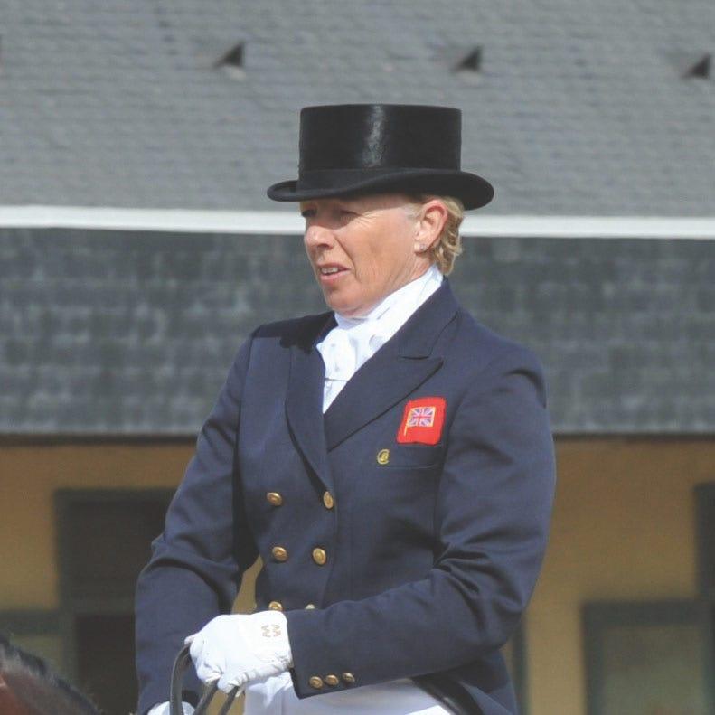 Judy Harvey, British Dressage Rider & TRM AMbassador